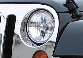 headlights jeep wrangler mopar oem jeep wrangler replacement headlight assembly