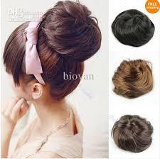 hair bun clip stylish pony women clip in on hair bun hairpiece hair