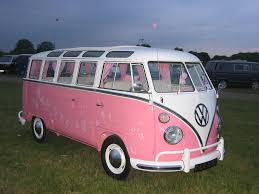volkswagen pink pretty in pink a very girly splitty beetlemania vw acti u2026 flickr