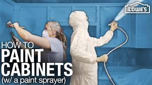 what is the best paint sprayer for cabinets how to paint cabinets with a paint sprayer