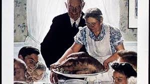 what is norman rockwell s thanksgiving picture really about big think