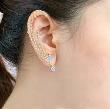 ear cuffs india ear cuffs online shopping buy designer ear crawler jewelry