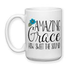 Amazing Mugs by Amazing Grace How Sweet The Sound Christian Gift Christian Mug