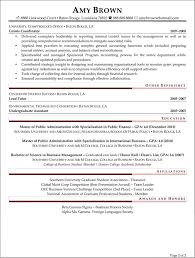 Job Resume For Students by Entry Level Financial Analyst Resume Berathen Com