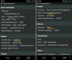 Cpu Info by Another Claimed Galaxy S5 Screenshot Hints At Two Versions 1080p