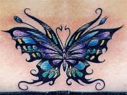 and tattoos mittvitalantliv lower back butterfly tattoos