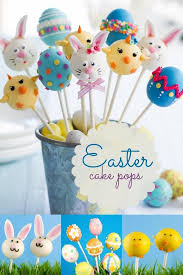 easter cake pops kid s party food ideas delicious easter cake pops
