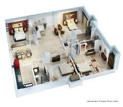 3d floor plan rendering u2013 laferida com