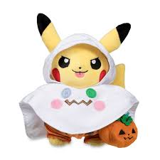 ghost costume pikachu ghost costume poké plush standard