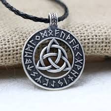 knot pendant necklace images 1pcs nodic viking amulet pendant necklace viking trinitarian jpg
