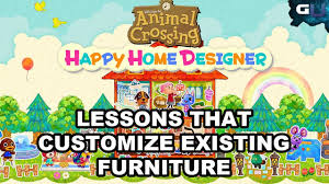 Home Design App Unlock Furniture Animal Crossing Happy Home Designer Lessons That Customize
