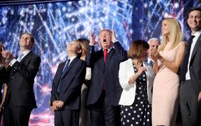 The Trump Family by The Gop Had A Lousy Convention But That U0027s Fine By Donald Trump