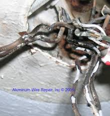 examples of burnt wire nuts aluminum wire repair inc