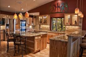 stained kitchen cabinets with hardwood floors 21 beautiful kitchens with hardwood floors of the home