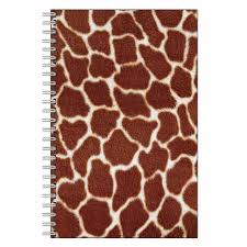 giraffe pattern notebook 8 best animal print notebook journals images on pinterest animal
