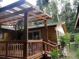 details for wood and diy covered deck patio designs details for