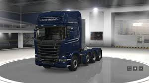 scania truck scania trucks for ats v1 1 1 29 mod american truck simulator mod