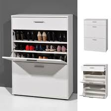 White Shoe Storage Cabinet Big Foot Wall Mounted Shoe Storage Cabinet In Wooden White