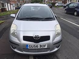top spec toyota yaris t spirit 1 3 vvti 5 door manual in
