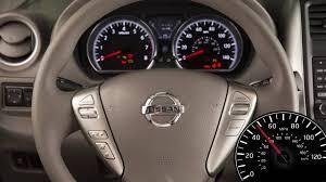 nissan versa fuel gauge 2017 nissan versa sedan cruise control if so equipped youtube