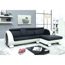 canape angle noir et blanc canape cuir noir et blanc canapa sofa divan canapa design 3 places