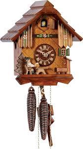 1 day movement 22cm chalet style cuckoo clock by anton schneider