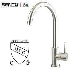 water ridge kitchen faucet water tap temperature water ridge kitchen faucet with cupc