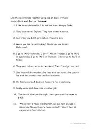 all worksheets conjunction worksheets printable worksheets