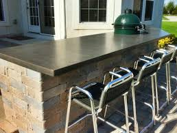 concrete top bar table 49 best bar project phase 3 images on pinterest bar tops wood