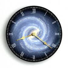galaxy wall clock gallery home wall decoration ideas