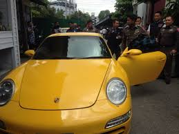 police porsche man caught in police sting operation trying to sell porsche supercar