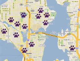seattle map green lake areas seattle walker and pet sitter