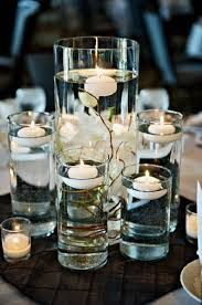 candle centerpiece diy floating candle centerpiece home lighting design ideas