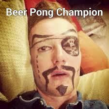 Beer Bong Meme - beer pong chion memegram