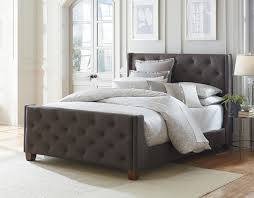 fabric bed upholstered headboard and footboard set pictures 83