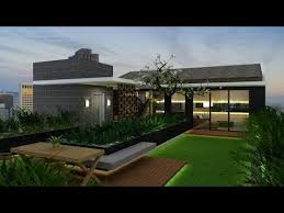 rooftop garden design build with google sketchup vray 3 4 render