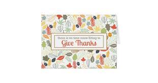 give thanks corporate thanksgiving thank you card zazzle