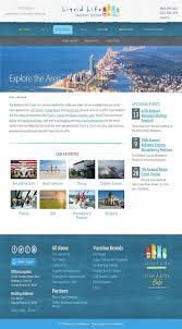 liquid life vacation rentals website portfolio