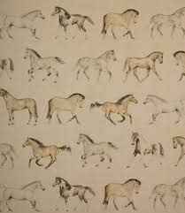the perfect fabric for horse lovers the gallops fabric has horses
