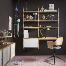 Desk Wall System 6 Svalnas Wall System Apartment Therapy