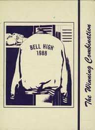cbell high school yearbook 1988 bell high school yearbook online bell ca classmates