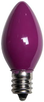 c7 light bulb c7 purple light bulbs opaque