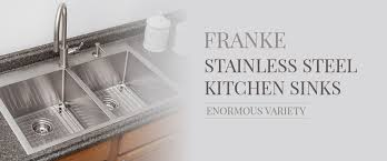 Franke Stainless Steel Kitchen Sinks QS Supplies - Kitchen sink franke
