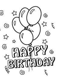 coloring pages for birthdays printables free printable happy birthday coloring pages for kids