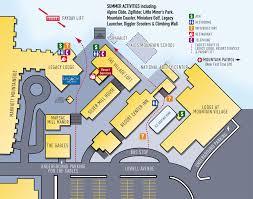 Park City Utah Map by Park City Resort Base Map Park City Ut U2022 Mappery