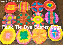 faux easter eggs to 2 posh lil divas faux tie dye coffee filter easter eggs