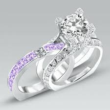 colored wedding rings images Unique colored engagement rings fresh colored wedding rings jpg