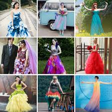 coloured wedding dresses 60 astonishing coloured wedding dresses rock n roll