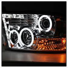 xenon 09 16 dodge ram 1500 2500 3500 ccfl halo led drl