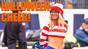 Girls Cheerleader Halloween Costume 30 Nfl Cheerleaders Halloween Costumes